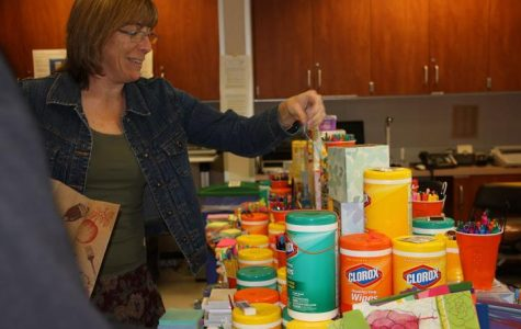 Foothill staff gifted supplies from annual