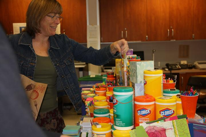 Foothill staff gifted supplies from annual Teacher Tower (13 photos)