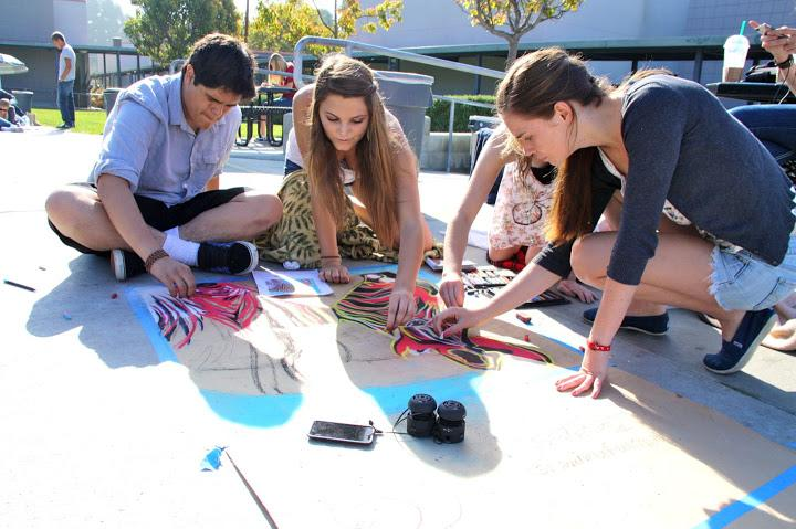 Student+artists+showcase+talents+at+Foothills+first+chalk+festival+%2813+photos%29