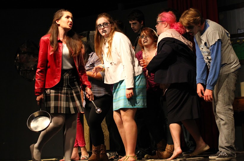 Night of The Teenage Zombies, great comeback for drama department (15 photos)