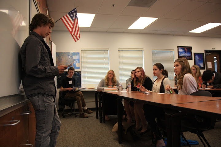 Freshmen debate how America Eats for the revamped Ninth Grade Project (11 photos)