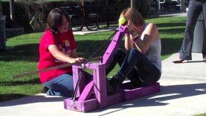 Conceptual Physics Catapult Launch