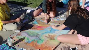 The Chalk Festival and Art Show 2013