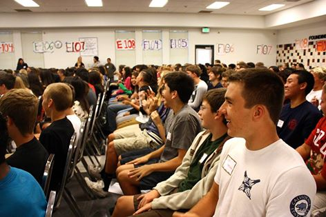 New students beam at orientation (interactive photo)