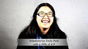 Valedictorian Emily Park