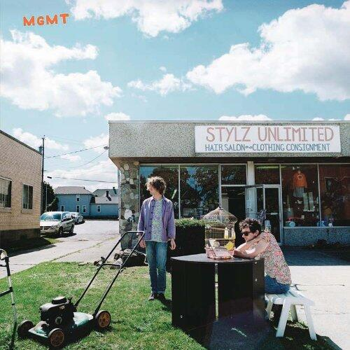 """MGMT keeps with their regular funky sound in """"MGMT"""" and is successful once again. Credit: Columbia Records"""