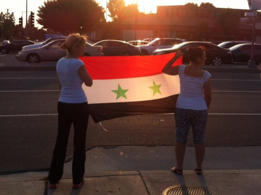 Syrian+American+protesters+rally+at+government+center