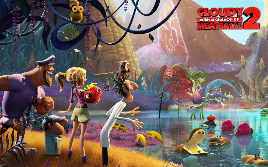 Cloudy with a Chance of Meatballs 2 was released on September 27. Credit: Columbia Pictu