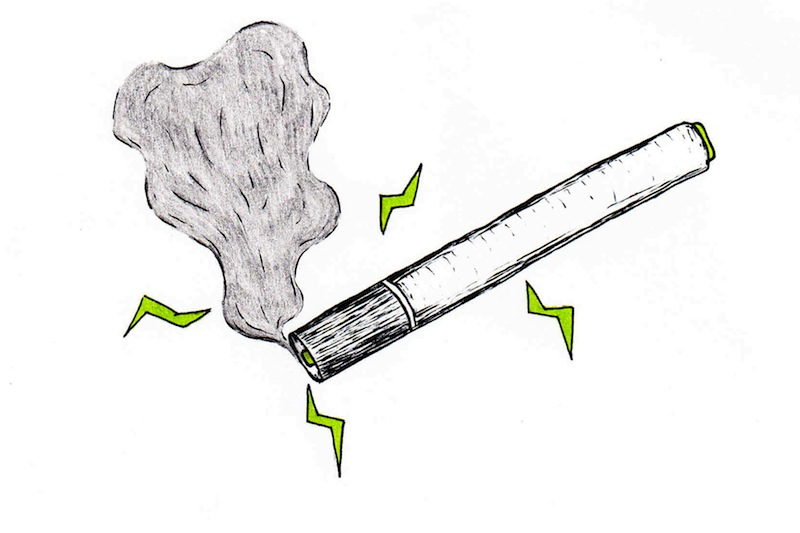 E-cigarettes are rising in popularity among teens. Credit: Michael Morales