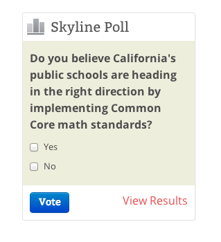 Common Core Math Poll – The Foothill Dragon Press