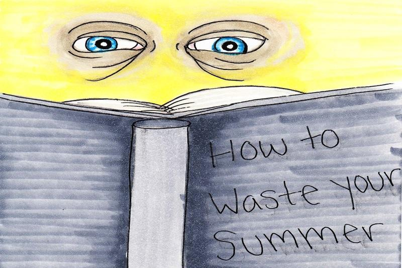 Summer reading prevents students from enjoying summer vacation. Credit: Lucy Knowles/ The Foothill Dragon Press