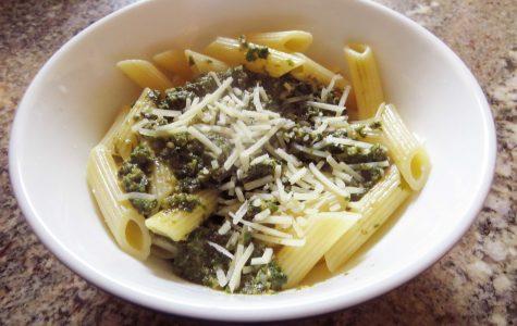 Quick, easy pesto pasta recipe