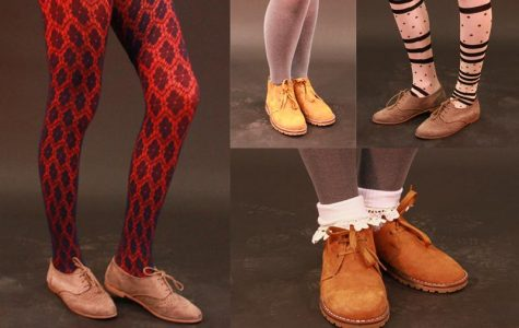 Wear tights and stockings to warm up winter outfits (10 photos)