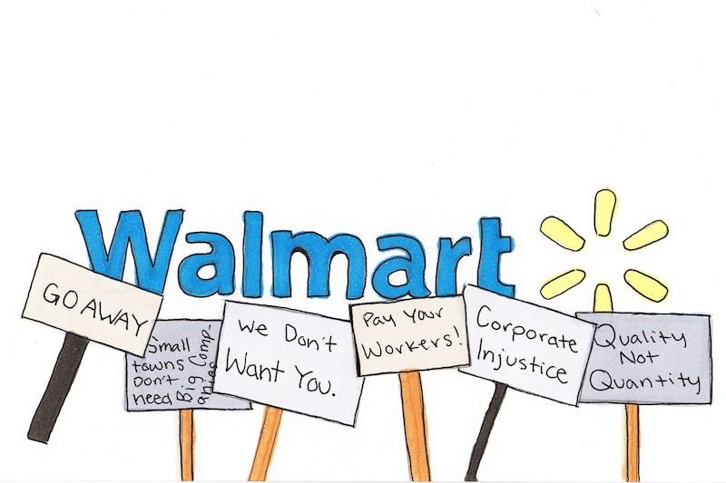 Walmart will not do well in Ventura. Credit: Lucy Knowles/ The Foothill Dragon Press