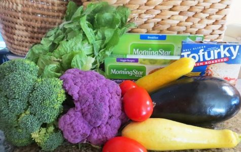 Vegetables like broccoli and squash and brands like Morningstar that produce