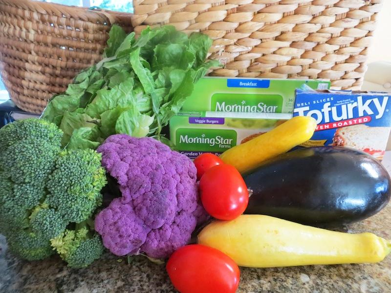 Vegetables like broccoli and squash and brands like Morningstar that produce fake meat are healthy ways to implement a vegetarian diet. Credit: Kienna Kulzer/The Foothill Dragon Press