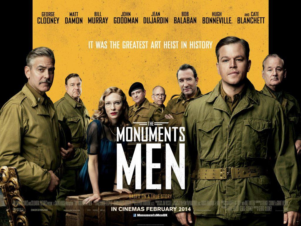 "The film version of ""The Monuments Men"" did not keep to the book's plot. Credit: Columbia Pictures"