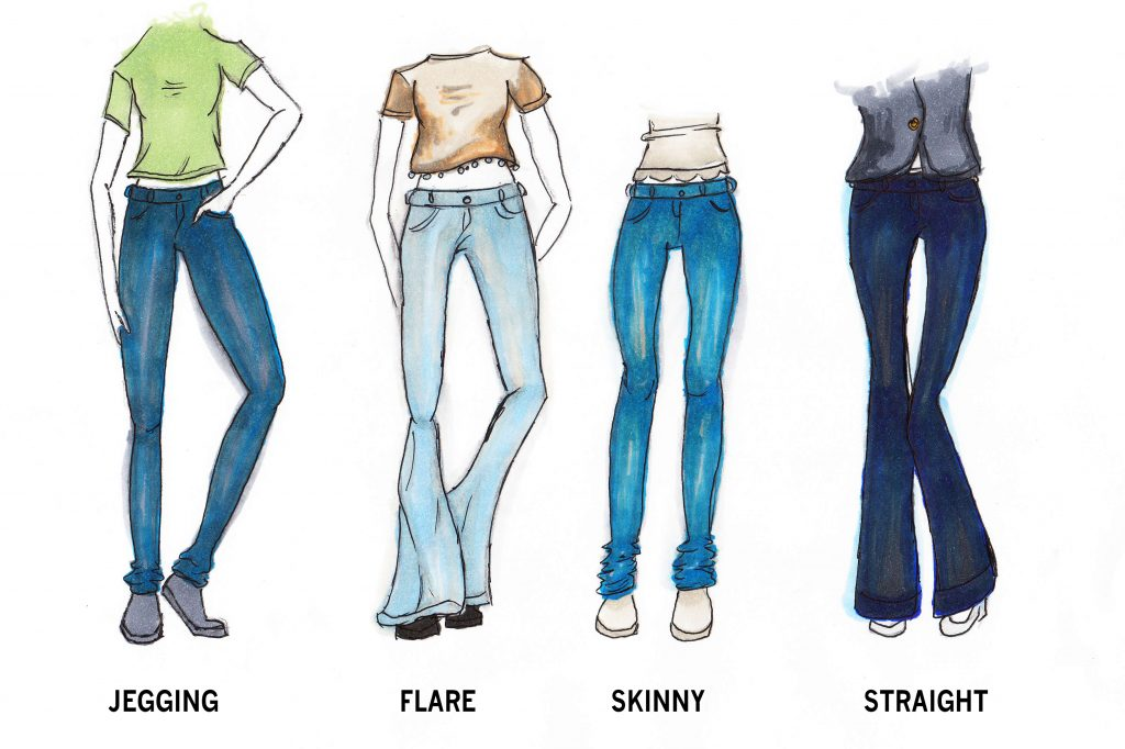 Jeans are an American classic, and this is a guise to finding the perfect fit for you. Credit: Lucy Knowles/The Foothill Dragon Press