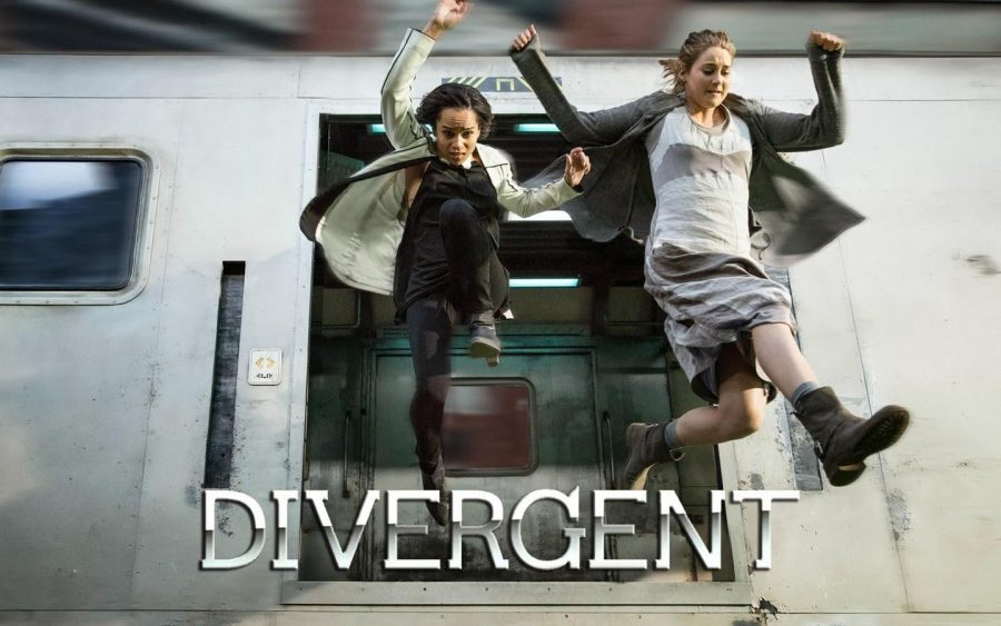 The movie version Divergent captures Americans attention with its mostly accurate portrayal of the award-winning teen book. Credit: Katherine Tegen Books