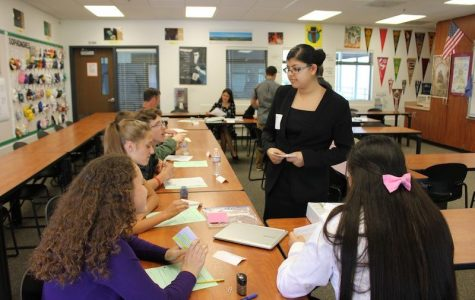 "Freshmen debate how ""America Eats"" for 9th grade project"