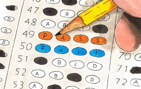 The SAT isn't a true indicator of a student's knowledge as it is now. Credit: Michael Morales/The Foothill Dragon Press