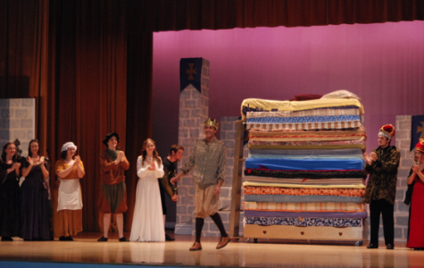 "VHS Drama Department shakes up a tired tale with ""Once Upon a Mattress"""