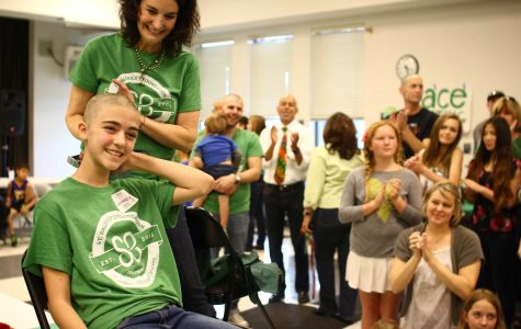 Students and staff shave their heads for St. Baldricks (50 photos, video)