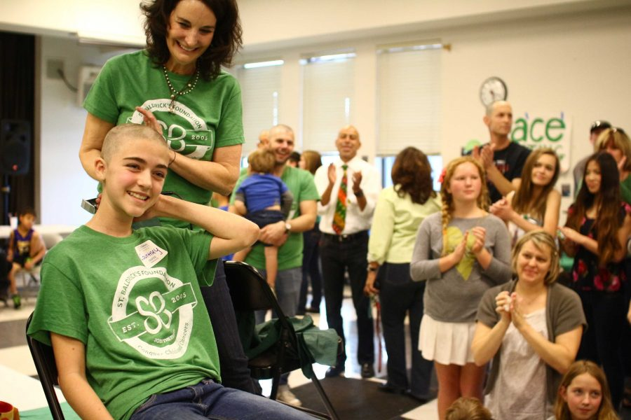 Students+and+staff+shave+their+heads+for+St.+Baldricks+%2850+photos%2C+video%29