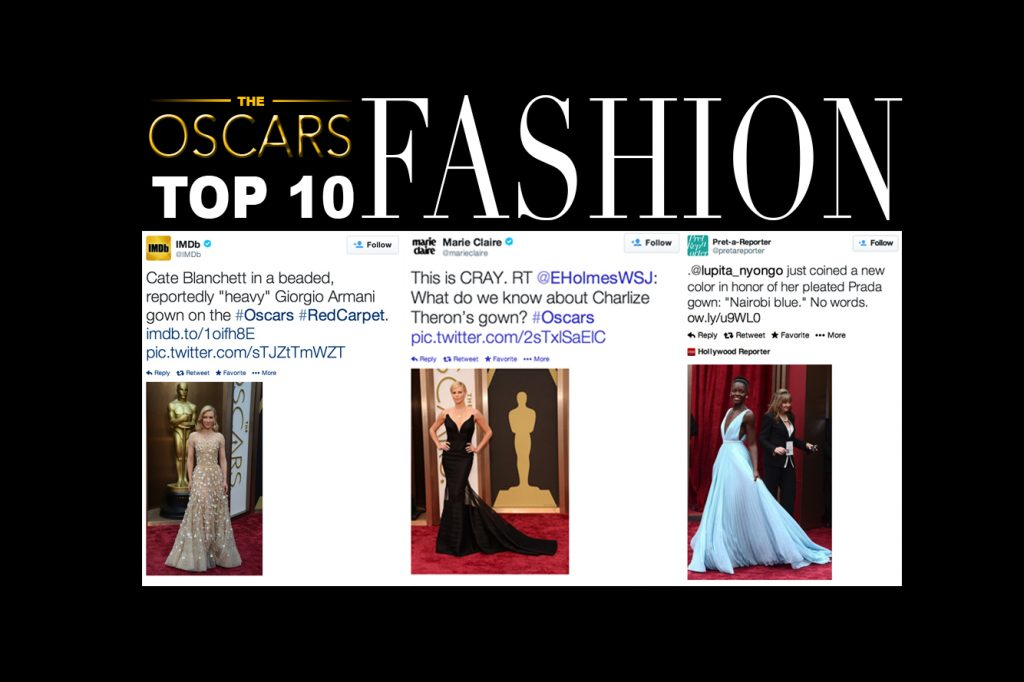 "The number one, two, and three dresses on our ""Top ten Oscar dresses"" list come from Cate Blanchett, Charlize Theron, and . Graphic Credit: Aysen Tan/The Foothill Dragon Press"