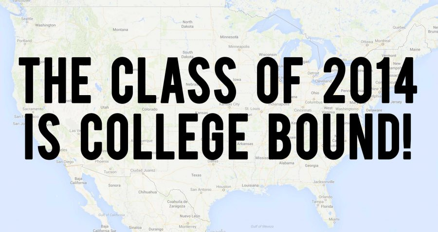 Class+of+2014+College+Map
