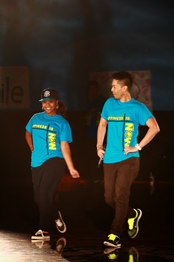 The dance crew inspires students as they encourage them to find what makes them happy. Credit: Josh Ren/ The Foothill Dragon Press