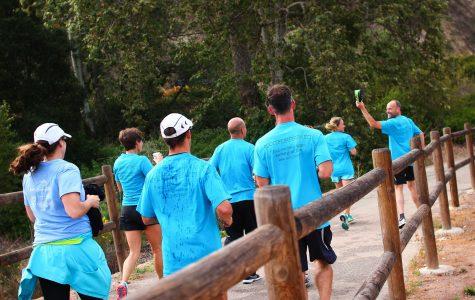 """Foothill teachers run """"Mountains2Beach"""" marathon for Prewitt"""
