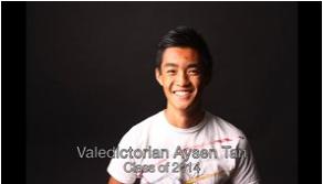 Valedictorian Aysen Tan