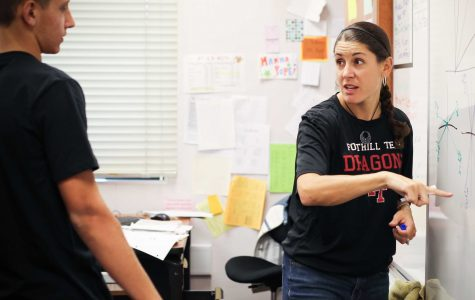 New teacher Rita Batch revitalizes math with enthusiasm
