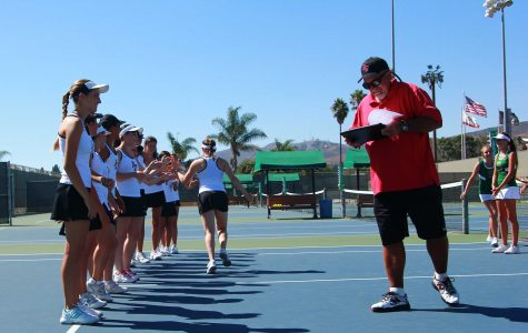 Tennis coach Brad McClain serves up success