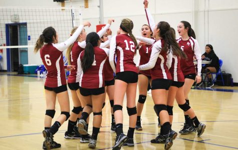 Girls volleyball team conquer in first home game of the season