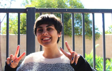 Alexia Khodanian pursues art and Speech and Debate with a smile