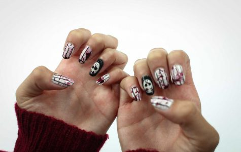 How to: Friday the 13th Nail Art
