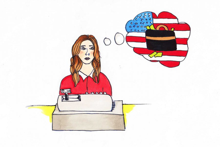 The American Dream is an unattainable facade to many individuals of the middle and working classes. Credit: Jessie Syder/The Foothill Dragon Press