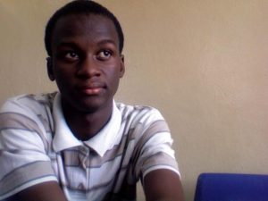 Junisa Kallon, 20,  faces a daily threat from the Ebola virus. Used with permission.