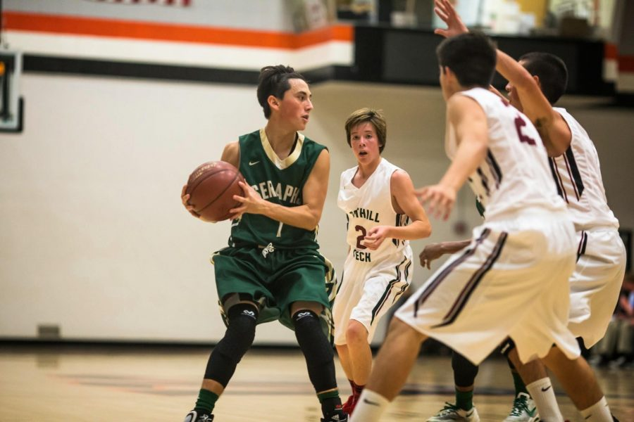 Foothill boy's basketball loses to St.Bonnie in first game of season 23-71