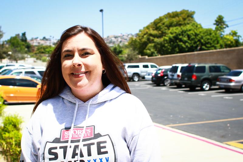 Girls' varsity coach Analeise White hopes to lead the team to victory. Photo CredIt: Josh Ren/The Foothill Dragon Press