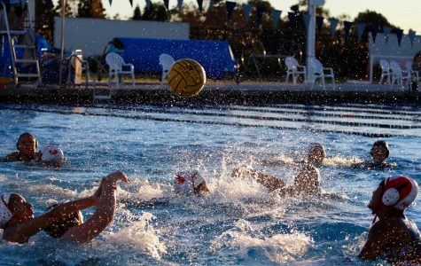 Girls' water polo dominates in first home game of the season