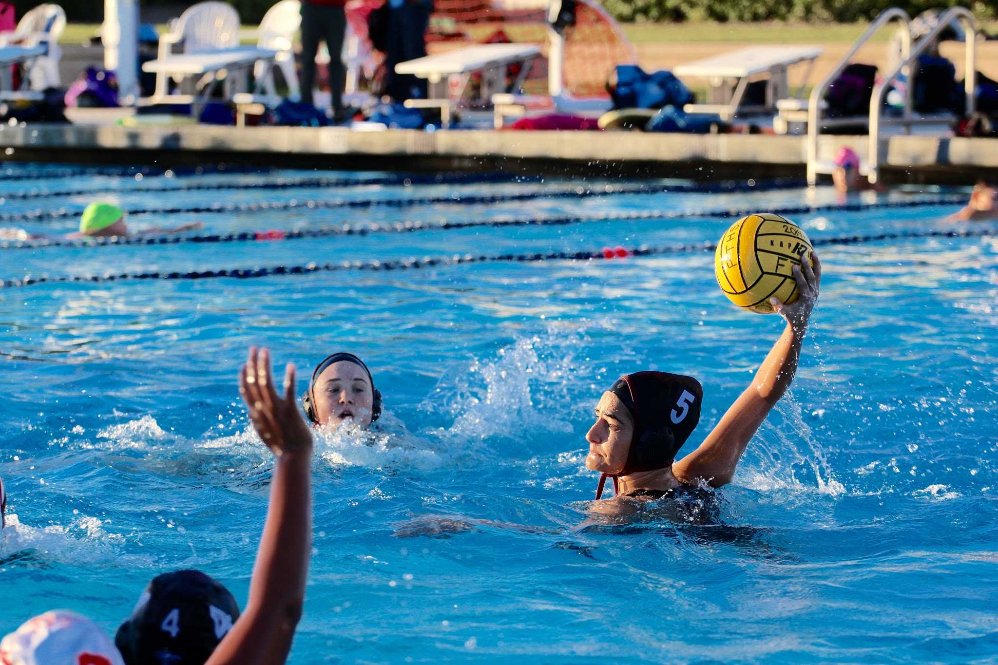 Foothill team captain Ariana Singer attempts to score. Credit: Kazu Koba/The Foothill Dragon Press