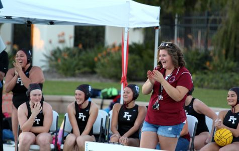 "Samantha Ebberson is ready to ""make history"" with girls' water polo"