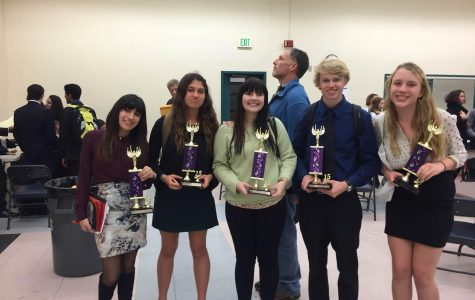 Speech and debate wins three trophies and three certificates at debate tournament