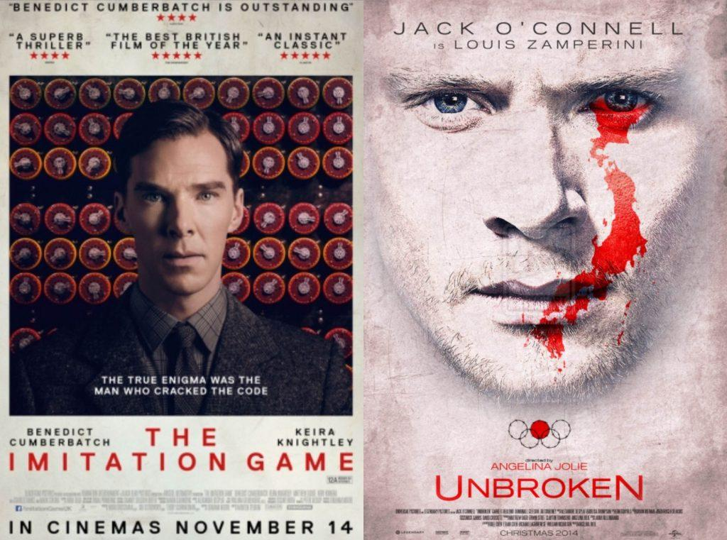 The Imitation Game and Unbroken compete for audiences, awards, and your favor. Credit: Gabby Sones/The Foothill Dragon Press
