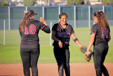 Foothill softball crushes Bishop Diego 8-1 (20 photos)