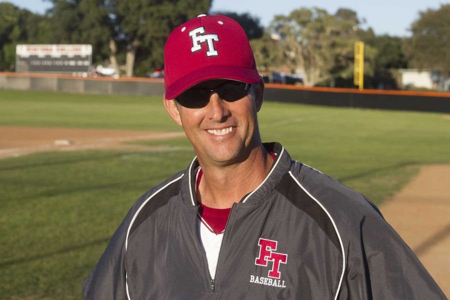 Baseball+coach+Clint+Ellison+is+eCredit%3A+Austin+Hunt%2FThe+Foothill+Dragon+Press