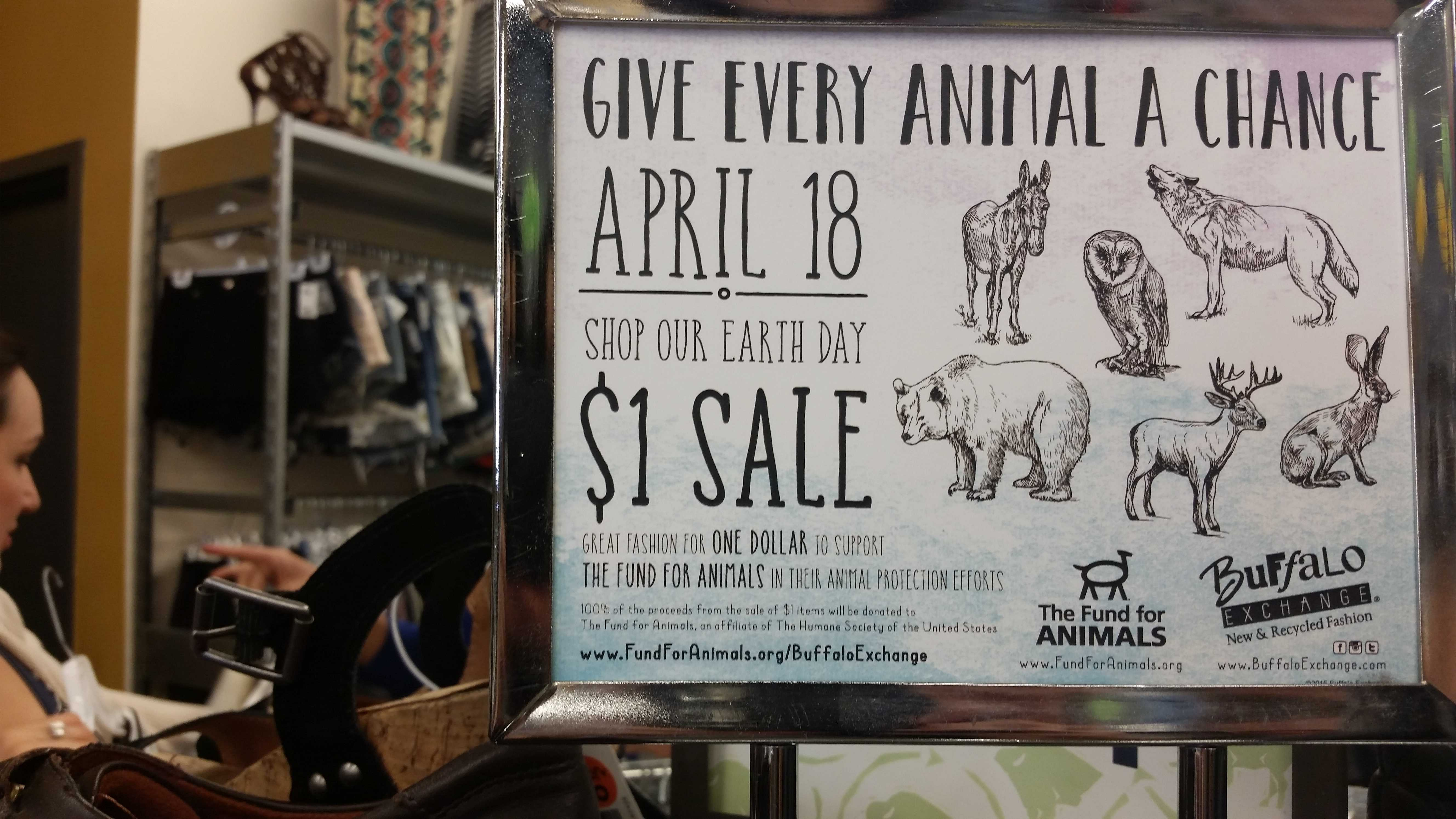 """new arrival 248c0 ad327 Annual """"Dollar Day"""" rush at Buffalo Exchange supports ..."""